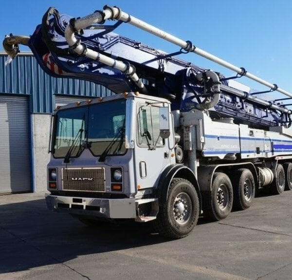 Truck mounted conveyor